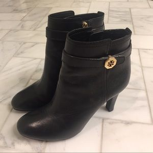 Tory Burch ankle boots.